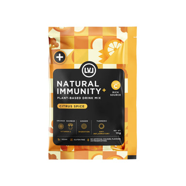 Immunity Boost + Vitamin C – Citrus Spice Superfood Powder Mix (6 sachets) - Health Food - LVL - Naiise