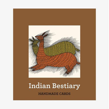 Indian Bestiary (Handmade Cards) Books Tan Yang International