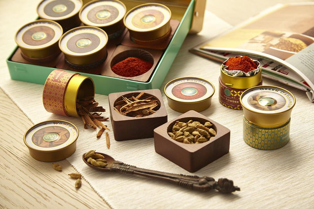 Indian Spicebox Kit Condiments Indian Spicebox