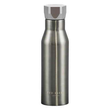 Ted Baker - Water Bottle Hexagonal Lid Gunmetal - Water Bottles - The Planet Collection - Naiise