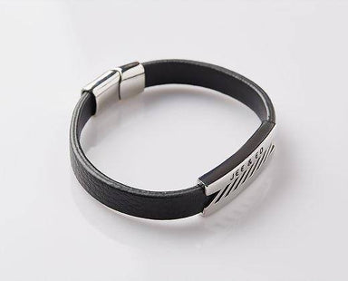 J. By Jee Razor Steel Band Bracelet - Men's Bracelets - J By Jee - Naiise
