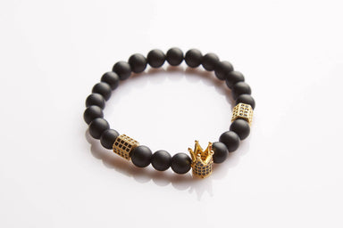 J. By Jee Gold Crown Bracelet - Men's Bracelets - J By Jee - Naiise