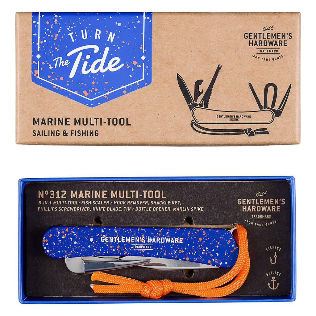 Gentlemen Hardware Marine Multi-Tool - Travel Accessories - The Planet Collection - Naiise