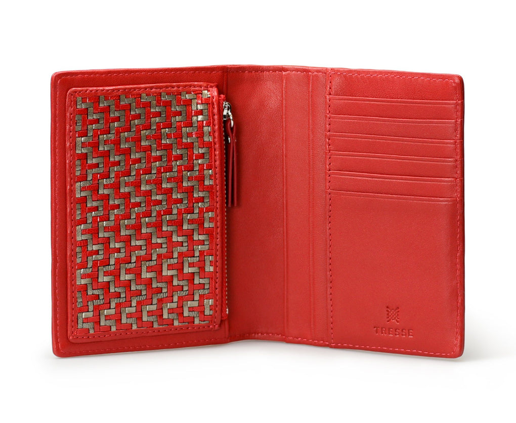 Jadila Purse In Vermillion Women's Wallets Tresse