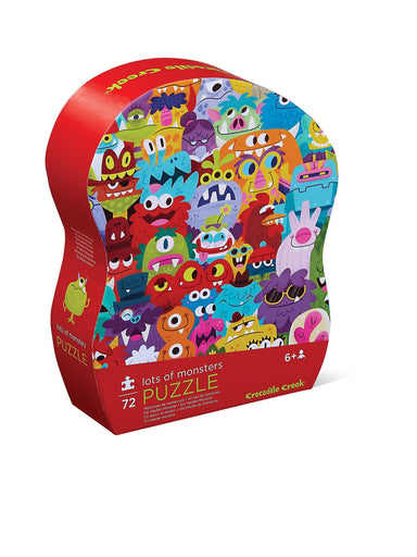 72-pc Puzzle - Lots of Monsters - Kids Puzzles - The Children's Showcase - Naiise