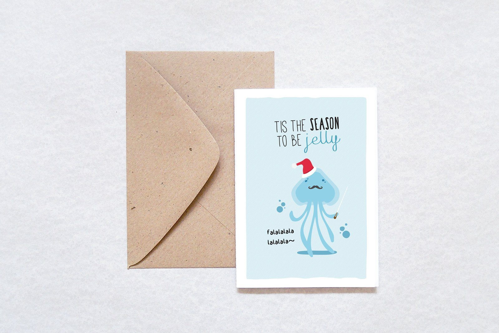 Jelly Christmas Card - Christmas Cards - TispyTopsy - Naiise