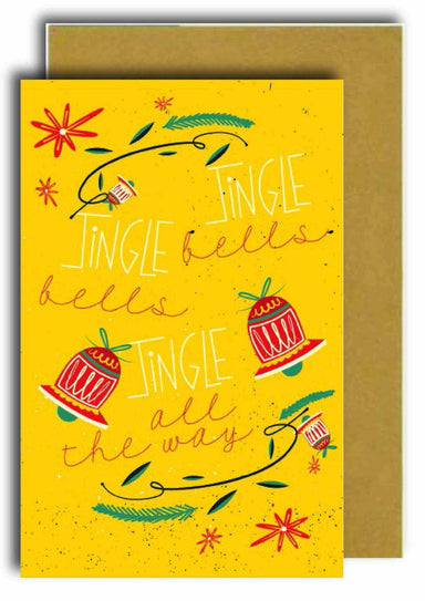 Jingle All the Way Greeting Card Christmas Cards Papermix