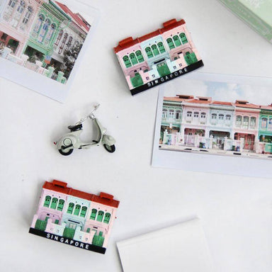 Joo Chiat Shophouse Magnet - Local Magnets - Ok Can Lah - Naiise