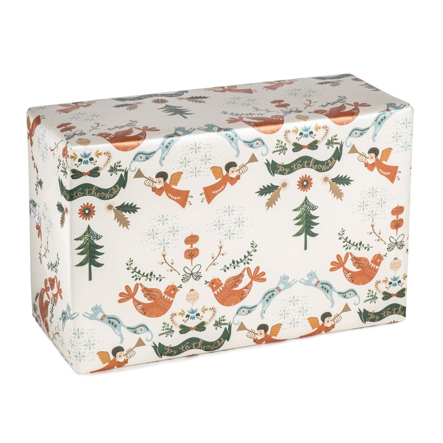 Joy To The World Wrapping Paper - Wrapping Papers - MULTIFOLIA ATELIER di Rita Girola - Naiise