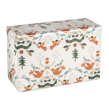 Joy To The World Wrapping Paper Wrapping Papers MULTIFOLIA ATELIER di Rita Girola