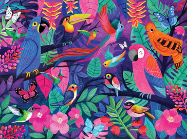 500-pc Boxed Puzzle -Birds of Paradise - Puzzles - The Children's Showcase - Naiise