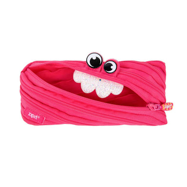 Zipit Party Monster Pouch Pink - Pencil Cases - Zigzagme - Naiise
