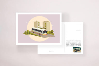 Trans Island Bus Postcard - Postcards - YOUNIVERSE DESIGN - Naiise