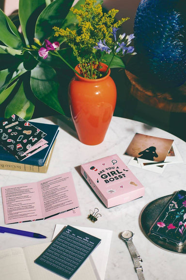 Doiy - Are You A Girl Boss? - Card Games - The Planet Collection - Naiise