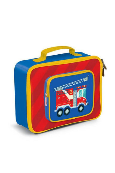Crocodile Creek Lunch Bags - Fire Engine Lunch Bags The Children's Showcase