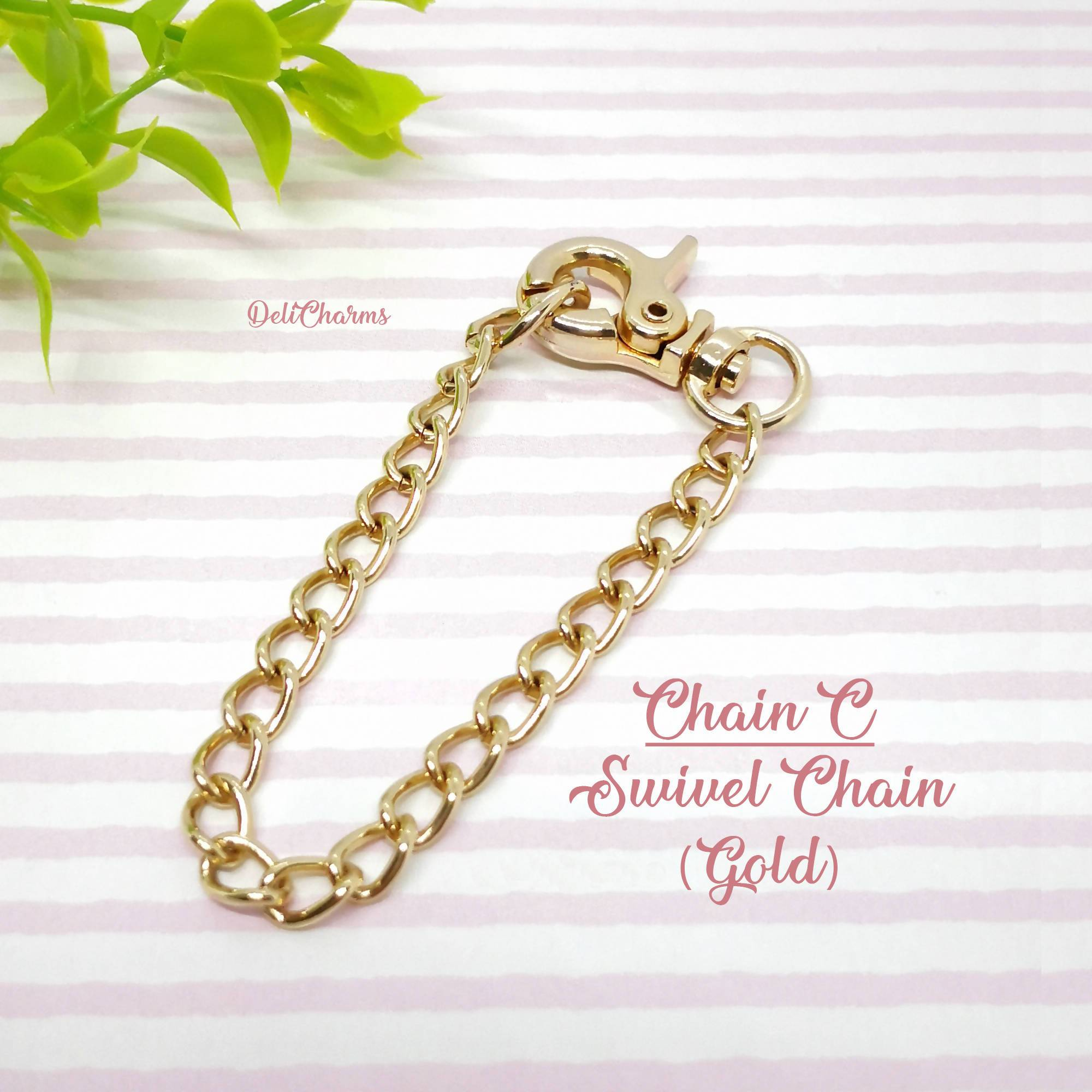 Swivel Chains for Charms - Keychains - Deli Charms - Naiise