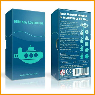 Deep Sea Adventure Card Game - Card Games - Allink Int Pte Ltd - Naiise