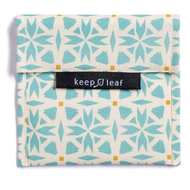 Keep Leaf Snack Bag - Large (Geo) Pouches Neis Haus