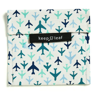Keep Leaf Snack Bag - Large (Plane) Lunch Bags Keep Leaf