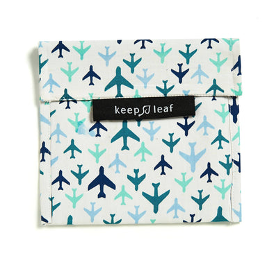 Keep Leaf Snack Bag - Large (Plane) Pouches Neis Haus