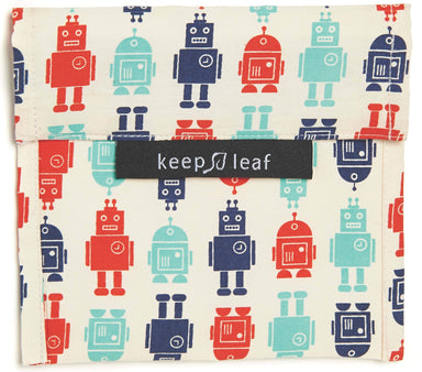 Keep Leaf Snack Bag - Large (Robot) Pouches Neis Haus