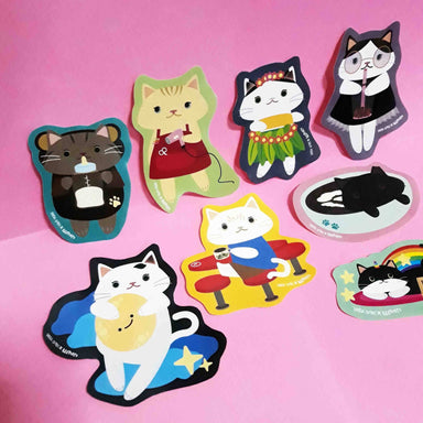 KeepCats x Sinful Cuties - 8 pcs Sticker Pack - Stickers - Sinful Cuties - Naiise