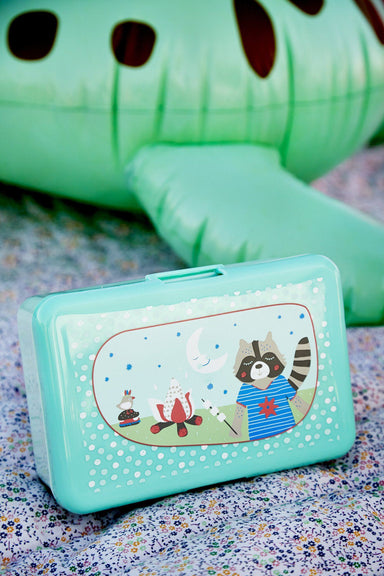 Kids Lunch Box - Boys Happy Camper (BXLUN-BCAMP) - Naiise
