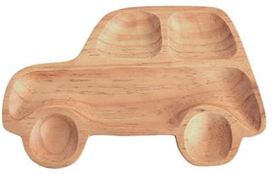 Kid's Wooden Plate - Car - Plates - time concept inc - Naiise