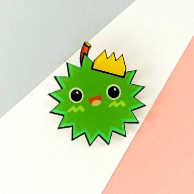 King Pin Badge - Pins - Artably - Naiise