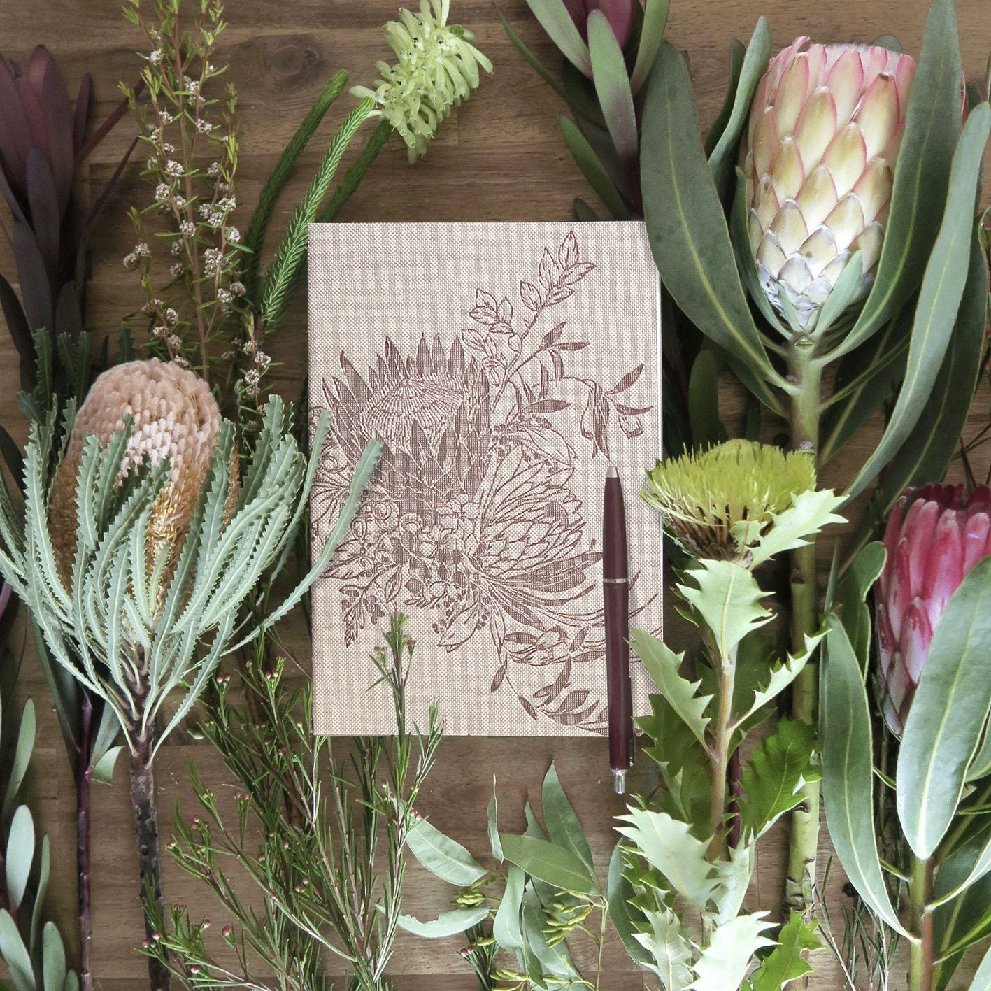 King Protea Signature Notebook - Naiise