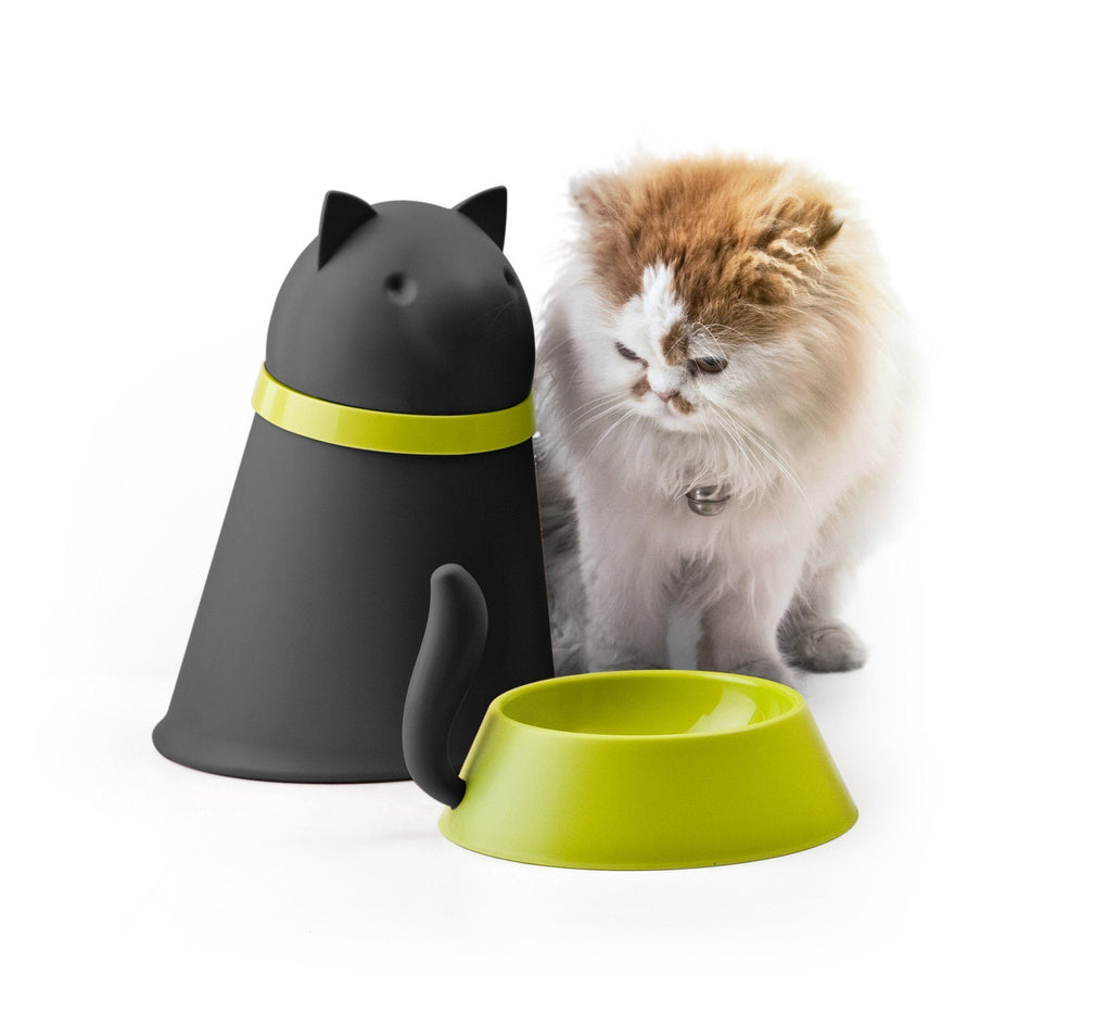 Kitt Pet Feeder Pet Bowls Qualy