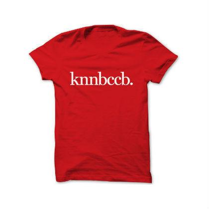 KNNBCCB T-Shirt Local T-shirts Statement Men's X Small Red