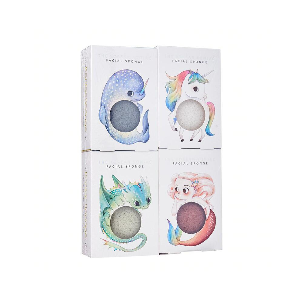 Konjac Facial Sponge Mythical Range Set Beauty Gift Sets The Konjac Sponge Company