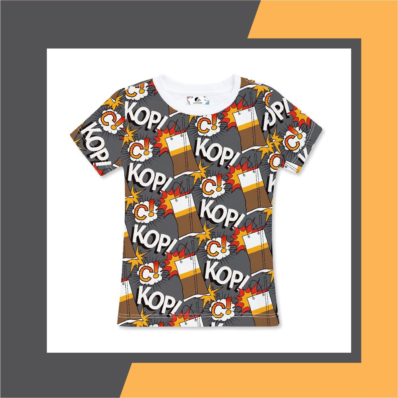 Kopi-C Women's Tee (Pre-Order) - Local T-shirts - CUSTOMINE - Naiise