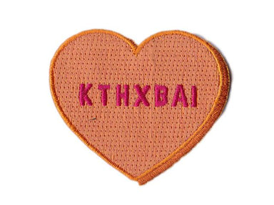 Kthxbai Iron On Patch - Iron On Patches - Pew Pew Patches - Naiise