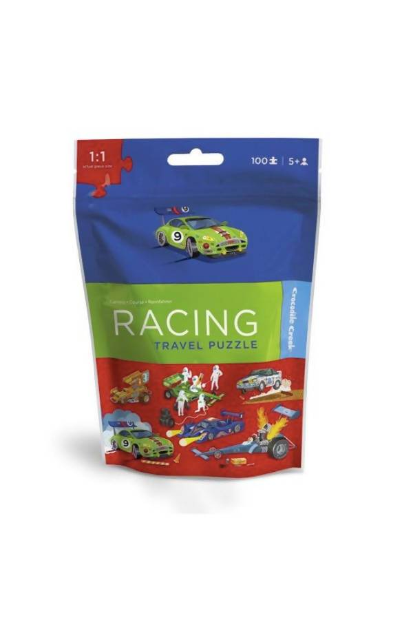 100-Pc Travel Puzzles Racing - Kids Puzzles - The Children's Showcase - Naiise