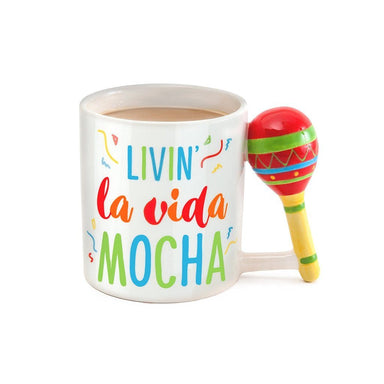 La Vida Mocha Coffee Mug Mugs BigMouth Inc