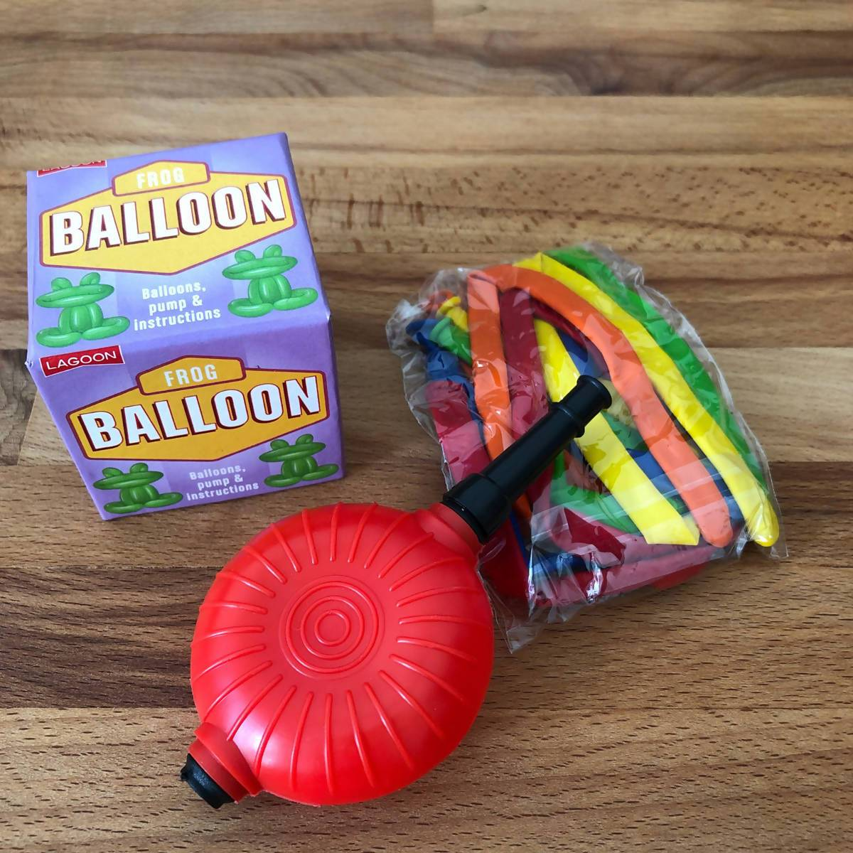 Lagoon Animal Balloon Sculpting - Frog - New Arrivals - Zigzagme - Naiise