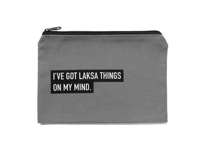 Laksa Punny Pouch Local Pouches LOVE SG
