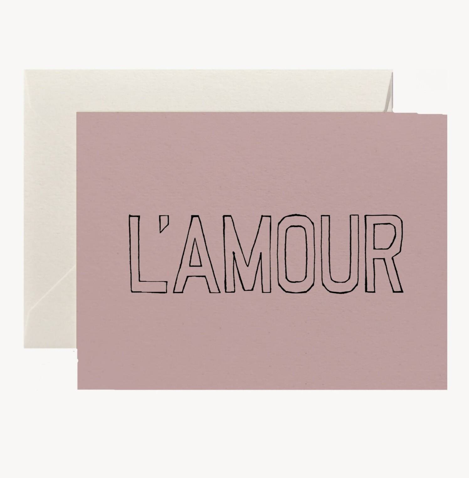 L'Amour Card - Love Cards - Twig & Co - Naiise