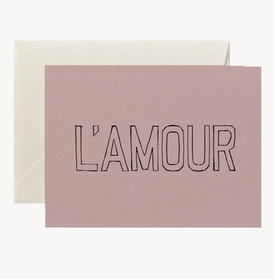 L'Amour Card Cards Twig & Co