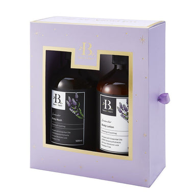 Lavender 2019 L.E.Gift Set (500ml x 2) - Beauty Gift Sets - Bare for Bare - Naiise