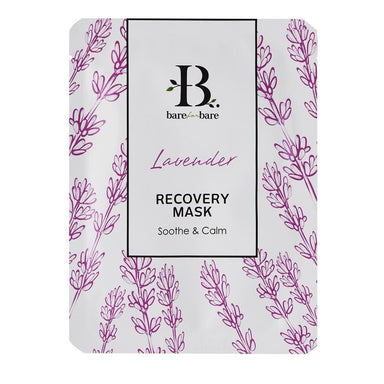 Lavender Recovery Face Mask (Single Piece) Face Masks Bare for Bare Single Piece