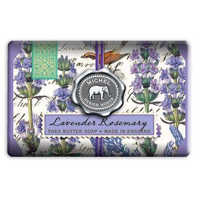 Lavender Rosemary Large Bath Bar Soap Soaps Michel Design Works