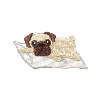 Lazy Pug Patch - Sticker Patches - Metanoia Lifestyle - Naiise