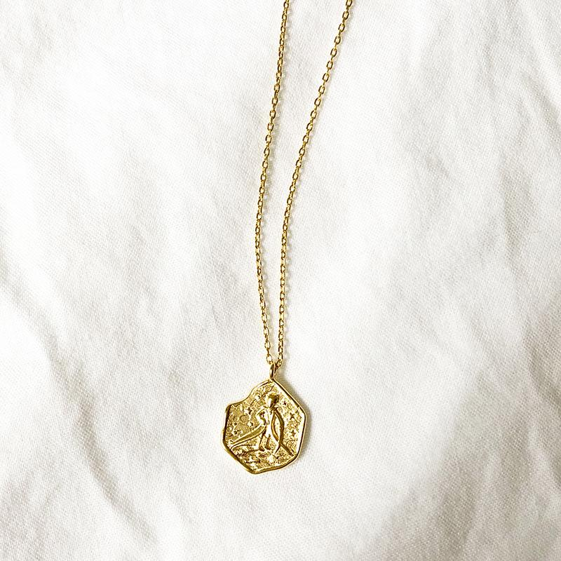 Le Petit Prince Necklace in Gold Necklaces Secret Clovers