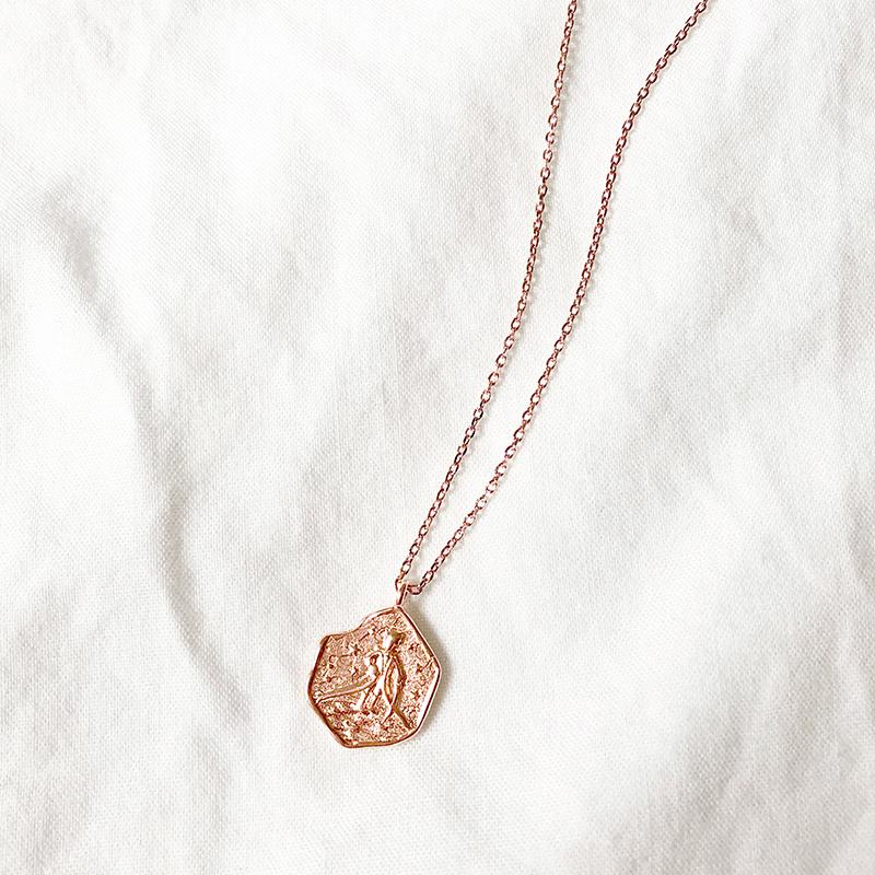 Le Petit Prince Necklace in Rose Gold Necklaces Secret Clovers