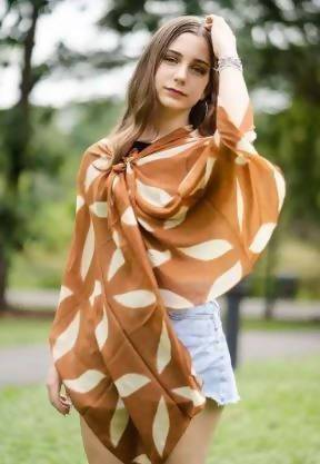 Leaves Scarf Scarves La Tierra