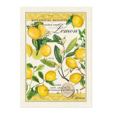 Lemon Basil Kitchen Towel Tea Towels Michel Design Works