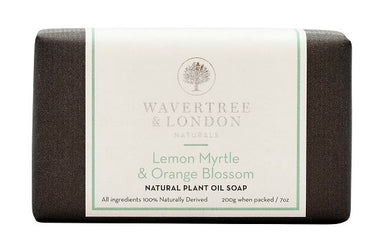 Lemon Myrtle & Orange Blossom Bar Soap Soaps Wavertree & London